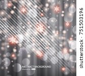 vector glittery lights silver... | Shutterstock .eps vector #751503196