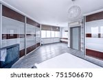 interior design bedrooms. | Shutterstock . vector #751506670