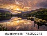 Sunrise In Snowdonia Llynn...