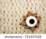 cozy composition  closeup...   Shutterstock . vector #751557328