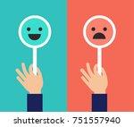 feedback concept design ... | Shutterstock .eps vector #751557940