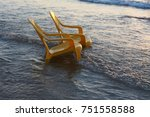 sunset in jordan | Shutterstock . vector #751558588
