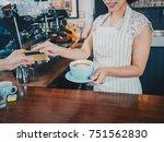 young beautiful asian women... | Shutterstock . vector #751562830