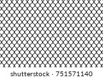 wire mesh steel metal. vector... | Shutterstock .eps vector #751571140