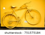 Golden Yellow Bicycle As...
