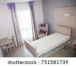 Hospital Room In A Nursing Hom...