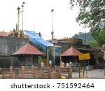 sabarimala  kerala  india ...   Shutterstock . vector #751592464