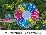 The Wheel Of Fortune Hung Up A...