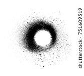 circle shape black monochrome...   Shutterstock . vector #751609519