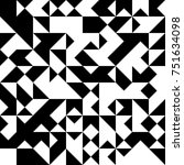 black and white  abstract... | Shutterstock .eps vector #751634098