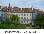 warsaw poland 09 12 17  the... | Shutterstock . vector #751639813