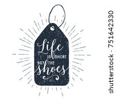 hand drawn price tag textured...   Shutterstock .eps vector #751642330
