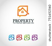 this is a property logo used... | Shutterstock .eps vector #751652560