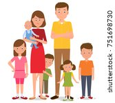 large parents | Shutterstock .eps vector #751698730