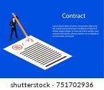 isometric 3d concept... | Shutterstock . vector #751702936
