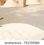 blur in iran the antique  ...   Shutterstock . vector #751705084