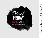 abstract black friday sale... | Shutterstock .eps vector #751706590