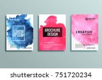 abstract colorful business... | Shutterstock .eps vector #751720234