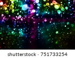 colorful bokeh background   Shutterstock . vector #751733254