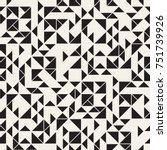 vector seamless pattern. modern ...   Shutterstock .eps vector #751739926