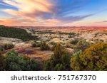 sunrise over theodore roosevelt ... | Shutterstock . vector #751767370