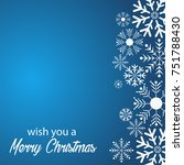 merry christmas and happy new... | Shutterstock .eps vector #751788430