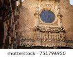 santa maria de montserrat is a... | Shutterstock . vector #751796920