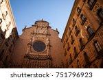 santa maria de montserrat is a... | Shutterstock . vector #751796923