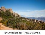 santa maria de montserrat is a... | Shutterstock . vector #751796956