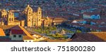 panoramic aerial view over the... | Shutterstock . vector #751800280