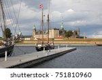 helsingor  zealand  denmark  ... | Shutterstock . vector #751810960