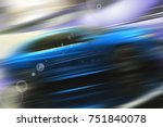 abstract futuristic background...   Shutterstock . vector #751840078