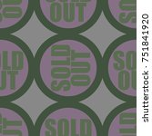 sold out seamless pattern with...