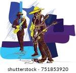 an hand drawn vector...   Shutterstock .eps vector #751853920