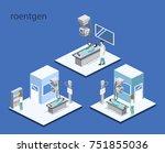 isometric 3d illustration... | Shutterstock . vector #751855036