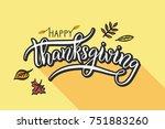 vector illustration. happy... | Shutterstock .eps vector #751883260