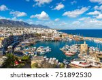 panoramic aerial view of... | Shutterstock . vector #751892530
