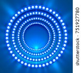 show light podium blue... | Shutterstock .eps vector #751927780