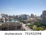sao paulo city in brazil.... | Shutterstock . vector #751932598