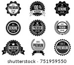 clean and modern badges with a...