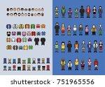 pixel art man avatar creator ...