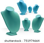 necklace display stand for... | Shutterstock .eps vector #751974664