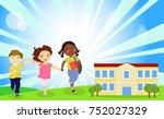 back to school | Shutterstock .eps vector #752027329