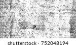 dark grunge background. black... | Shutterstock . vector #752048194