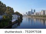 le de la jatte island in paris ... | Shutterstock . vector #752097538