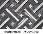 korean traditional pattern | Shutterstock . vector #752098840