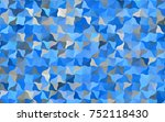 light blue vector blurry arched ... | Shutterstock .eps vector #752118430