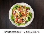 Shrimp Caesar Salad With...