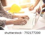 achievement planning design... | Shutterstock . vector #752177200