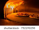 pizza art. the process of... | Shutterstock . vector #752193250